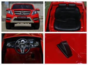 Masinuta electrica Mercedes GLK350 PREMIUM 2x35W 2X6V #Rosu7