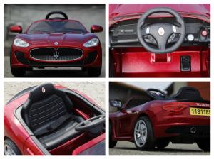 Masinuta electrica Maserati Kids CU ROTI MOI 2x 35W 12V #Rosu6