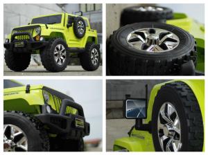 Masinuta electrica JeeP Outdoor 12V STANDARD #Verde [6]