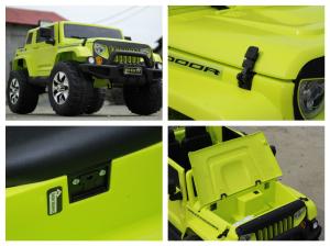 Masinuta electrica JeeP Outdoor 12V STANDARD #Verde [8]