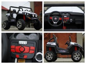 UTV electric pentru copii Golf-Kart 4x45W 2x12V PREMIUM #ALB7