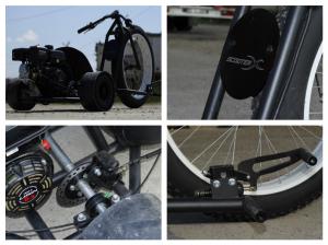 Motocicleta NITRO Drift-TRIKE 200cc Roti 26/117
