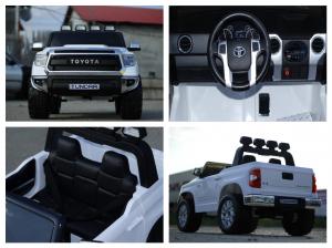 Masinuta electrica Toyota Tundra 2x45W PREMIUM #Alb7