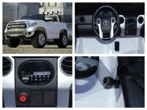 Masinuta electrica Toyota Tundra 2x45W PREMIUM #Alb8