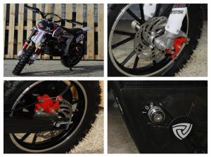 Mini Motocicleta Eco Ghepard 500W 24V #Rosu8