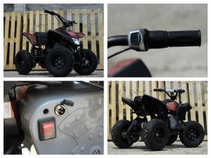 Mini ATV electric Pentru copii NITRO Eco Trio Quad 350W 24V #Rosu7