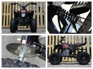 Mini ATV electric Pentru copii NITRO Eco Trio Quad 350W 24V #Rosu8
