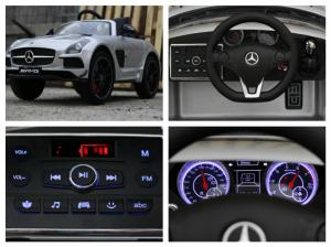 Masinuta electrica Mercedes SLS AMG PREMIUM #Silver7