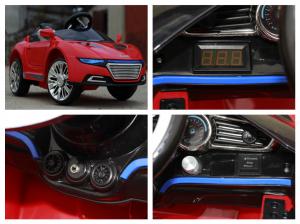 Masinuta electrica AD R-COUPE 60W 12V STANDARD #Rosu6