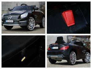 Masinuta electrica Mercedes SL63 AMG STANDARD 12V #Negru8
