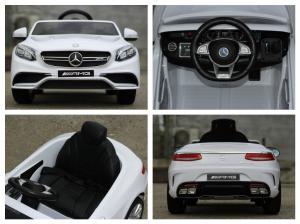 Masinuta electrica Mercedes S63 12V PREMIUM #ALB6