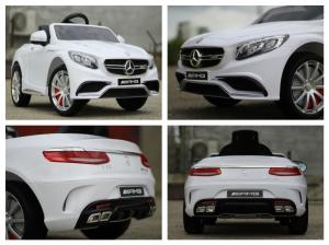 Masinuta electrica Mercedes S63 12V PREMIUM #ALB7