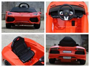 Masinuta electrica Lamborghini Aventador LP 700-4 STANDARD #Portocaliu6
