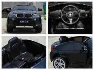 Masinuta electrica BMW X6M 2x35W STANDARD #Negru6