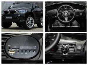 Masinuta electrica BMW X6M 2x35W STANDARD #Negru7