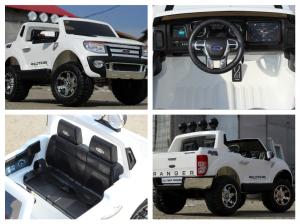 Masinuta electrica Ford Ranger F150 STANDARD 2x35W 12V #ALB6