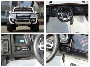 Masinuta electrica Ford Ranger F150 STANDARD 2x35W 12V #ALB7