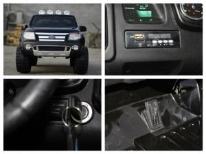 Masinuta electrica Ford Ranger F150 STANDARD 2x35W 12V #Negru7