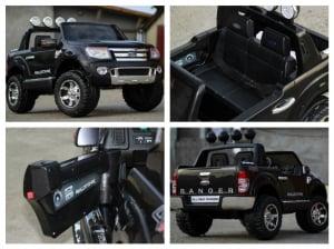 Masinuta electrica Ford Ranger F150 STANDARD 2x35W 12V #Negru8