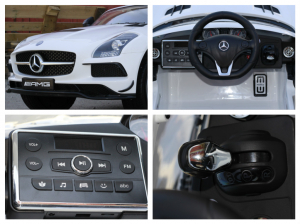 Masinuta electrica Mercedes SLS AMG PREMIUM #ALB7
