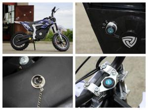 Mini Motocicleta Eco Ghepard 500W 24V #Albastra7