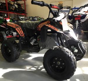 Mini ATV electric Pentru copii NITRO Eco Trio Quad 350W 24V #Portocaliu7