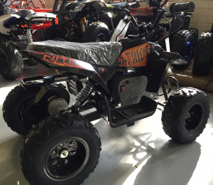 Mini ATV electric Pentru copii NITRO Eco Trio Quad 350W 24V #Portocaliu2