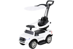 Carut pentru plimbat copii 2 in 1 Ford Ranger STANDARD #Alb0