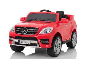 Masinuta electrica Mercedes ML350 2x25W STANDARD 12V #Rosu0