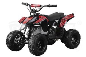 Mini ATV electric Pentru copii NITRO Eco Trio Quad 350W 24V #Rosu0