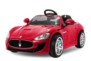 Masinuta electrica Maserati Kids CU ROTI MOI 2x 35W 12V #Rosu0