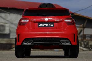 Kinderauto Mercedes A45 AMG PREMIUM 12V #Rosu3