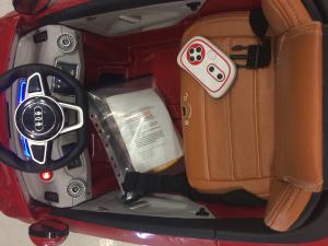 Kinderauto Audi TTS 2x 30W 12V PREMIUM #Rosu8