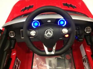Masinuta electrica Mercedes SLS STANDARD 2x 25W 12V # Rosu6
