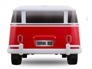 Masinuta electrica VW Samba Bus 2x45W, PREMIUM #Rosu2