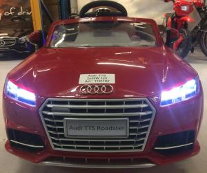 Kinderauto Audi TTS 2x 30W 12V PREMIUM #Rosu5