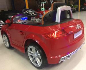 Masinuta electrica Audi TTS 2x 30W 12V PREMIUM #Rosu2