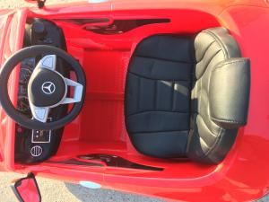 Masinuta electrica Mercedes S63 12V PREMIUM #ROSU5