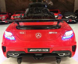 Masinuta electrica Mercedes SLS STANDARD 2x 25W 12V # Rosu3