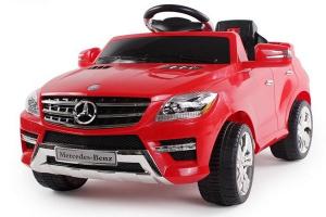 Masinuta electrica Mercedes ML350 STANDARD 1x25W #Rosu0