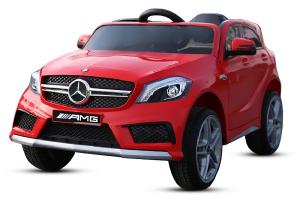 Kinderauto Mercedes A45 AMG PREMIUM 12V #Rosu0