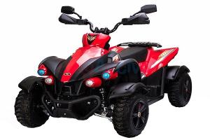 ATV EVA - Quad electric pentru copii 2x 45W 12V #Rosu0