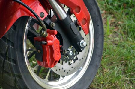 Scuter electric pentru adulti Solley SMD-U1 #RED Wine, 2000W putere, baterie 60V 20Ah, inmatriculabil [7]