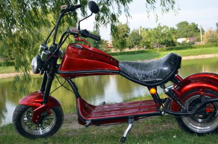 Scuter electric pentru adulti Solley SMD-U1 #RED Wine, 2000W putere, baterie 60V 20Ah, inmatriculabil [2]