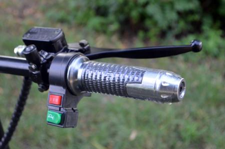 Scuter electric pentru adulti Solley SMD-102 #Military, 2000W putere, baterie detasabila de 60V 12Ah [7]