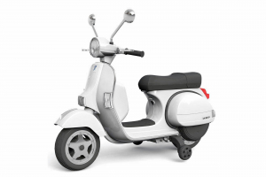 Scuter electric pentru copii Piaggio PX150 PREMIUM #Alb0