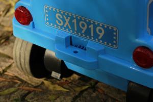 Trenulet electric pentru copii SX1919 90W 12V STANDARD #Albastru5