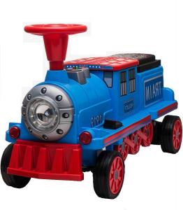 Trenulet electric pentru copii SX1919 90W 12V STANDARD #Albastru0