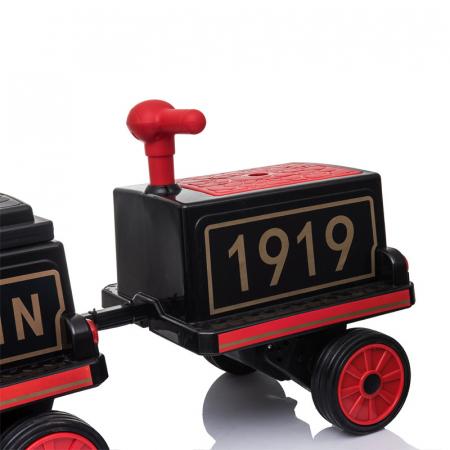 Trenulet electric cu vagon SX1919 12V 180W STANDARD #Rosu11