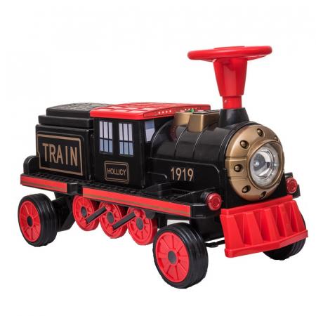 Trenulet electric cu vagon SX1919 12V 180W STANDARD #Rosu9